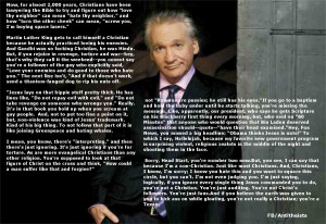 bill maher quotes atheismse Bridges Were Made for Walking