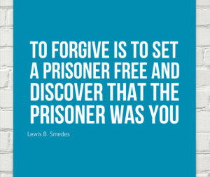 The other kind of forgiveness
