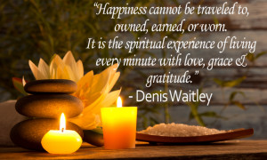 Inspirational Quote: Happiness – Denis Waitley
