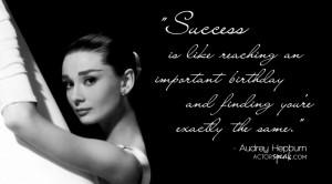 Audrey Hepburn Header