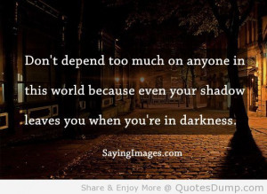 quotes about darkness - Google Search
