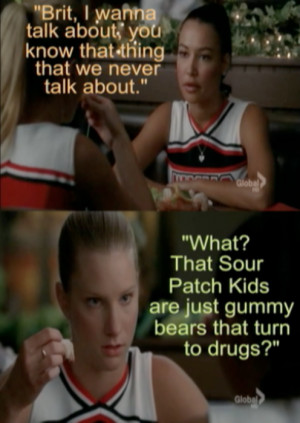 Glee Brittany Quotes
