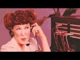 Laugh In TV show - Ernestine, the telephone operator (Lily Tomlin)