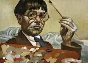 Stanley Spencer - Self Portrait 1939