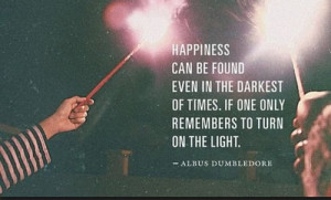 , dark, happiness, harry potter, light, love, pretty, quote, quotes ...
