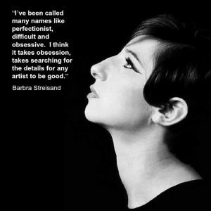 Barbra Streisand -Film Director Quote - Movie Director Quote # ...