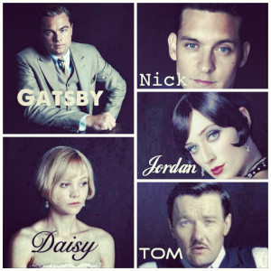 The Great Gatsby (2012) Main characters