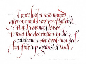 JSDman / August 1, 2012 / Calligraphy Commissioned Quotes Handwriting ...