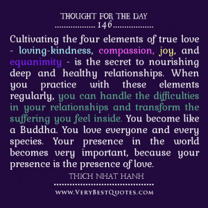 Cultivating-the-four-elements-of-true-love-love-quotes-thought-of-the ...