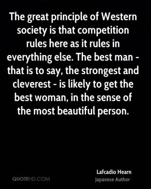 Lafcadio Hearn Society Quotes