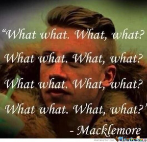 Inspirational Quote From Macklemore