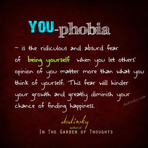 YOU-phobia