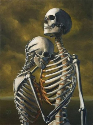 Funny Skeleton - Love Story (11)