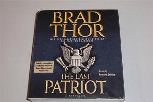 Brad Thor The Last Patriot Book On CD Audio 6 Hours 5 CDs 051450