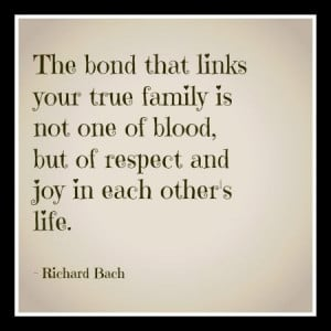 ... Quotes, Not Blood Families Quotes, Families Bond Quotes, Quotes From