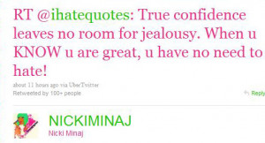Nicki Minaj Quote Graphic For Myspace