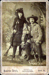 The most famous trick or exhibition shooter was Annie Oakley. She ...