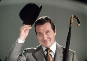 Patrick Macnee as John Steed - THE AVENGERS