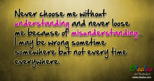 Understanding-Misunderstanding-Nice Quotes-Best Thoughts