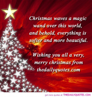 merry xmas from thedailyquotes.com