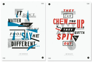 Omar Coming: New Poster Series Captures The Best Quotes From The Wire