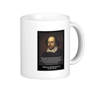 William Shakespeare Quote: Julius Caesar Mugs