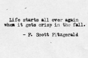 Quote of the Week: F. Scott Fitzgerald