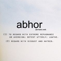 Definition and pronunciation