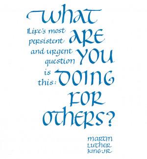 Spiritual Awakening: Walking Your Talk Like Martin Luther King JR.