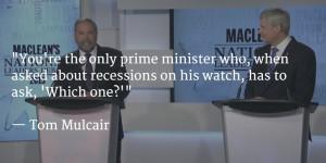 10 Best Quotes From The Maclean's Leaders Debate