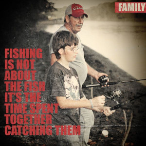 Family Fishing Quotes Scrapbook