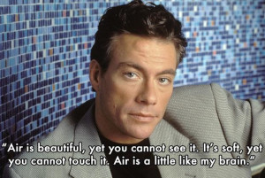 Real life JCVD quotes