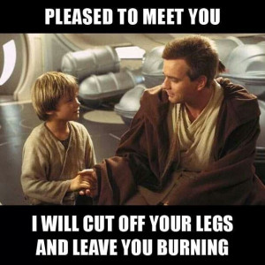 Star wars dang anikin obi wan