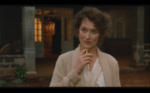 Meryl Streep 'Out of Africa' Screencaps