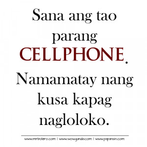 Tagalog Patama Quotes and Tagalog Sad Love Quotes