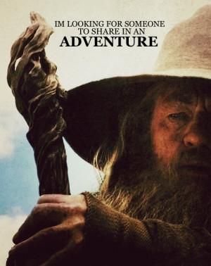 the hobbit 1000 gandalf amblingh last one I promise Queue!