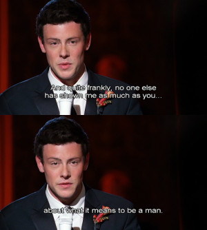 glee quotes via tumblr