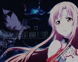 if this is love sword art online by sophielafreak fan art wallpaper ...