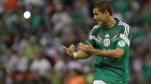 Chicharito Hernandez 2014 World Cup Mexico 10 maajo 2014