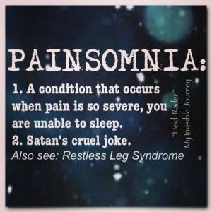 ... Fibromyalgia, Endometriosis, POTS, Hypermobility, Quotes, PAINSOMNIA
