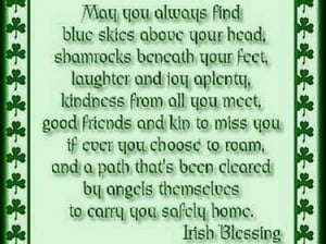 Our Favorite Irish Blessings!