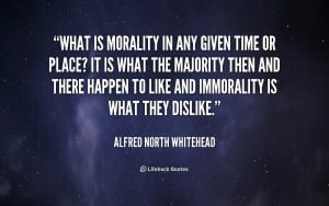 Searched Term: morality quotes