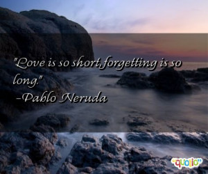 Quotes about Forgetting