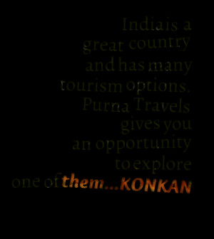 Quotes Picture: india is a great country and has many tourism options ...