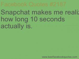 Snapchat Quotes