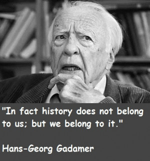 Hans Georg Gadamer, philosopher