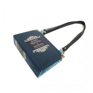 Familiar Quotations Bookpurse Purse made from Vintage book by ...