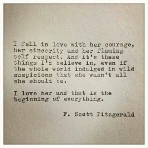 fell in love | fitzgerald