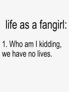 Life Is Fangirl Mobile Wallpaper