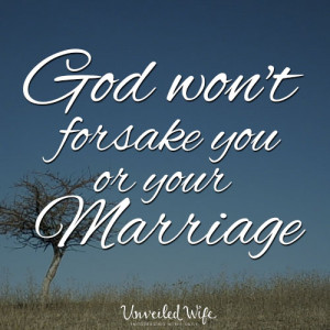 as is restoration in marriage. And while restoration in your marriage ...